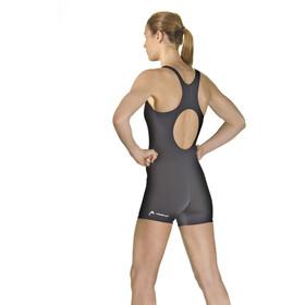 Head Fullbody Leg Swimsuit Ladies Black